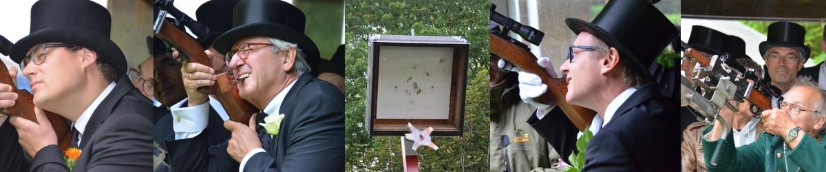 Vogelschießen der Bürgergilde zu Neumünster seit 1578